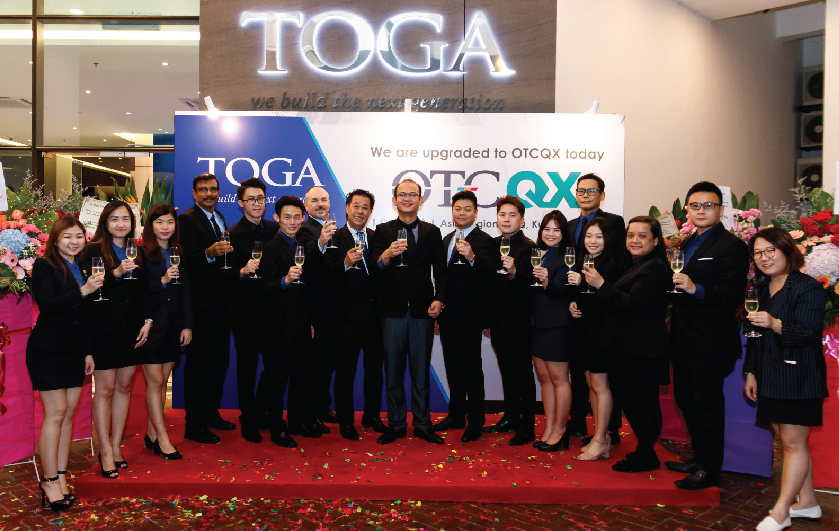 OTC Markets Group Welcomes Toga Limited to OTCQX – Toga Limited